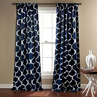 Lush Decor 2-pack Geo Blackout Curtain - 52'' x 84''