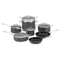 Cuisinart 13-pc. Contour Hard-Anodized Nonstick Cookware Set