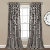 Lush Decor Riley Sheer Window Curtain - 54'' x 84''