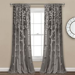 Lush Decor 1-Panel Riley Sheer Window Curtain - 54'' x 84''