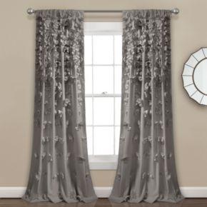 Lush Decor 1-Panel Riley Sheer Window Curtain - 54'' x 84''