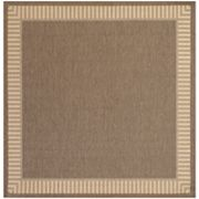 Couristan Recife Wicker Stitch Indoor Outdoor Rug