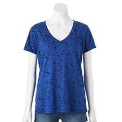 Rock & Republic® Splatter High-Low Tee - Women's