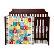 Dr. Seuss Alphabet Seuss 3 pc Crib Bedding Set by Trend Lab