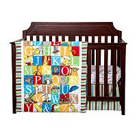 Dr. Seuss Alphabet Seuss 3-pc. Crib Bedding Set by Trend Lab