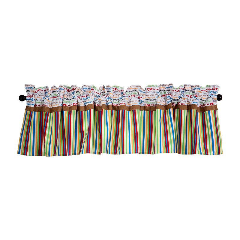 Dr. Seuss Alphabet Seuss Window Valance by Trend Lab ()