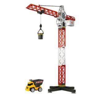 Dickie Toys Majorette Building Team Crane