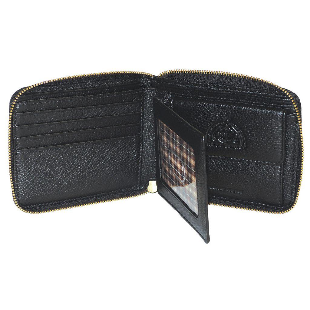 DOPP SoHo RFID-Blocking Zip-Around Wallet
