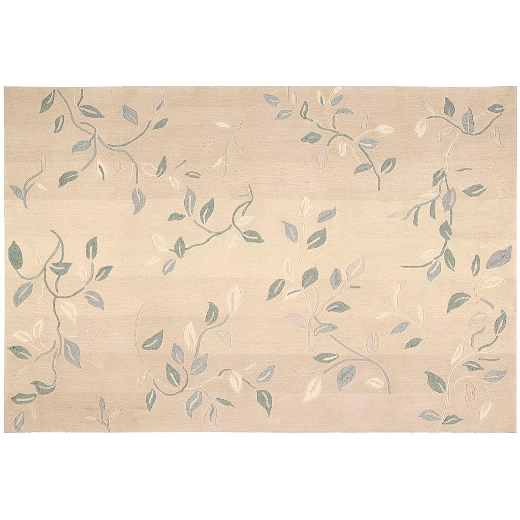 Nourison Contour Leaf Rug