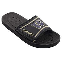 Adult Washington Huskies Slide Sandals