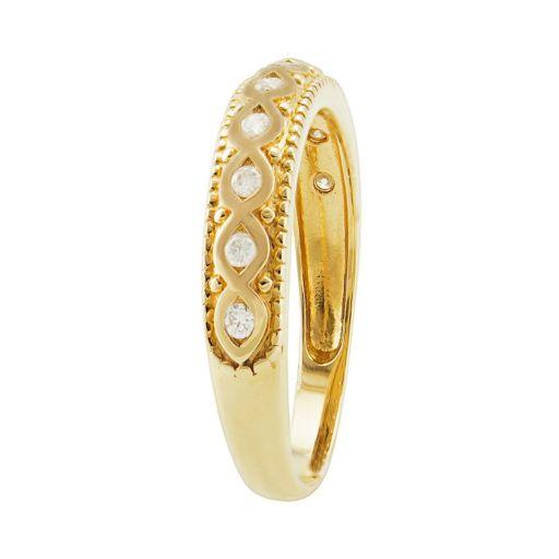 1/6 Carat T.W. Diamond 14k Gold Ring