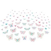 WallPops Fluttery Butterfly Wall Decals