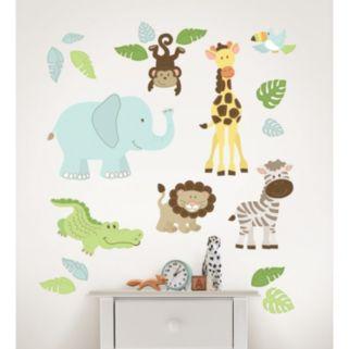 WallPops Safari Buddies Wall Decals