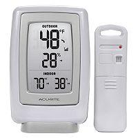 AcuRite Digital Wireless Indoor Outdoor Thermometer & Hygrometer