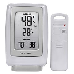 AcuRite Digital Wireless Indoor Outdoor Thermometer & Hygrometer
