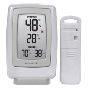 AcuRite Digital Wireless Indoor Outdoor Thermometer and Hygrometer