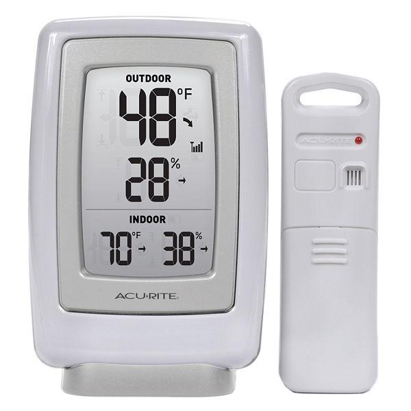 Acurite Digital Wireless Indoor Outdoor Thermometer Hygrometer