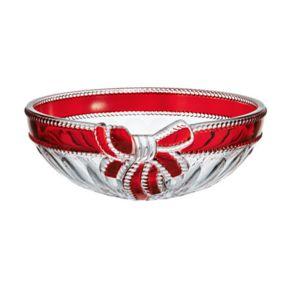 Mikasa Ruby Ribbon Crystal Bowl