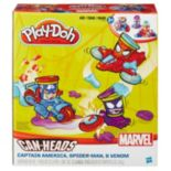 Marvel Can-Heads Captain America, Spider-Man & Venom Set by Play-Doh
