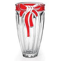 Mikasa Ruby Ribbon Crystal Vase