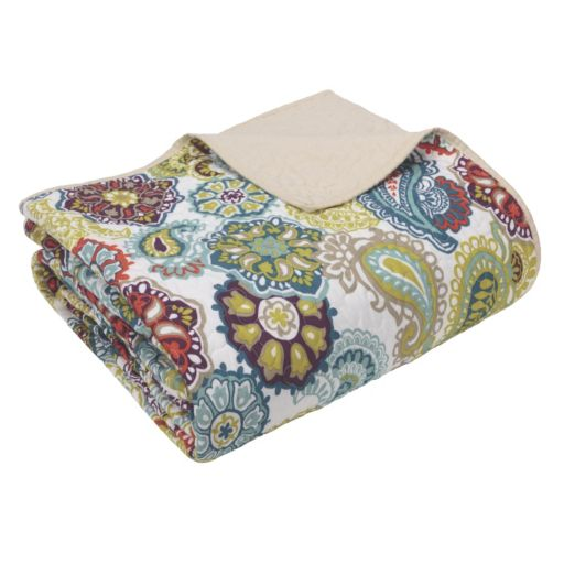 Mi Zone Oversized Quilted Throw