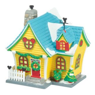Disney Village Mickey's House Light-Up Decor by Department 56