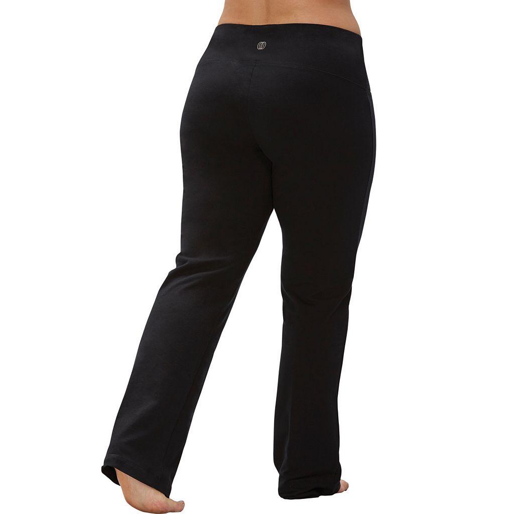 Plus Size Marika Tummy Control High Waist Yoga Pants