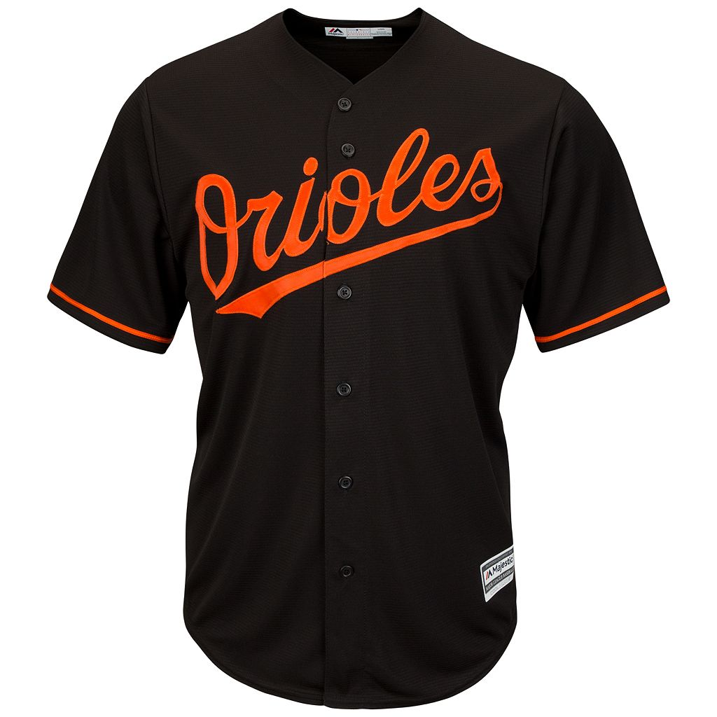 Men's Majestic Baltimore Orioles Adam Jones Cool Base Replica MLB Jersey