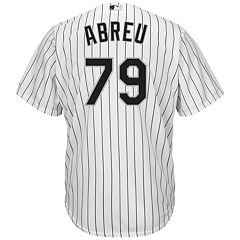 Men's Majestic Chicago White Sox Jose Abreu Cool Base Replica MLB Jersey