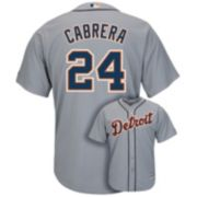 Men's Majestic Detroit Tigers Miguel Cabrera Cool Base Replica MLB Jersey