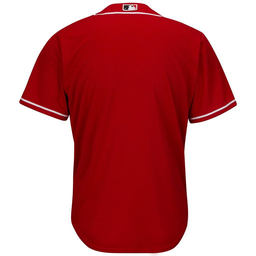 Men's Majestic Cincinnati Reds Replica MLB Jersey