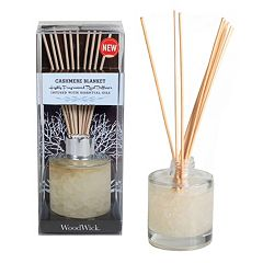 WoodWick Cashmere Blanket 12 pc Reed Diffuser Set