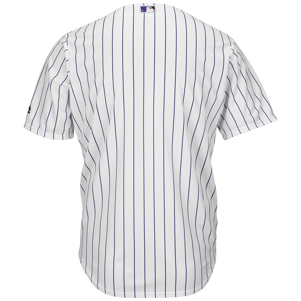 Men's Majestic Colorado Rockies Cool Base Replica MLB Jersey