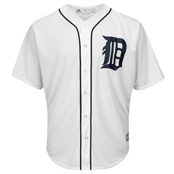 Men's Majestic Detroit Tigers Cool Base Replica MLB Jersey