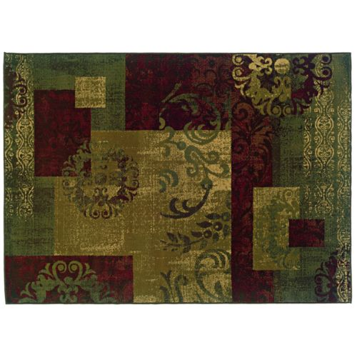 Oriental Weavers Tybee Geometric Scroll Rug