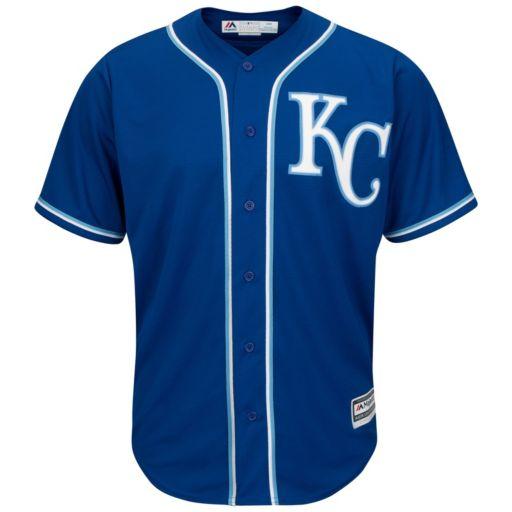 Men's Majestic Kansas City Royals Cool Base Replica MLB Jersey