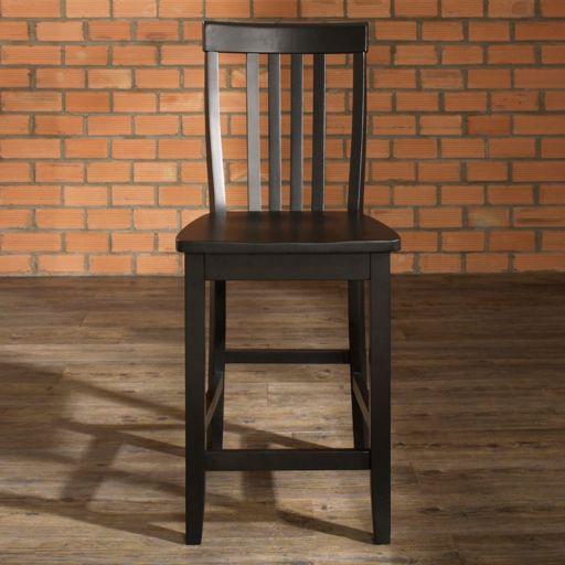 Crosley Furniture 2-piece School House Counter Stool Set