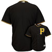 Men's Majestic Pittsburgh Pirates Cool Base Replica MLB Jersey