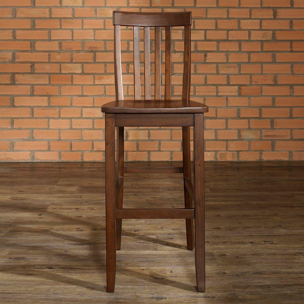 Crosley Furniture 2-piece School House Bar Stool Set