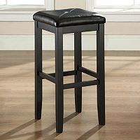 Crosley Furniture 2-piece Square Seat Bar Stool Set