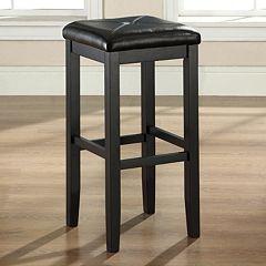 Crosley Furniture 2 pc Square Seat Bar Stool Set