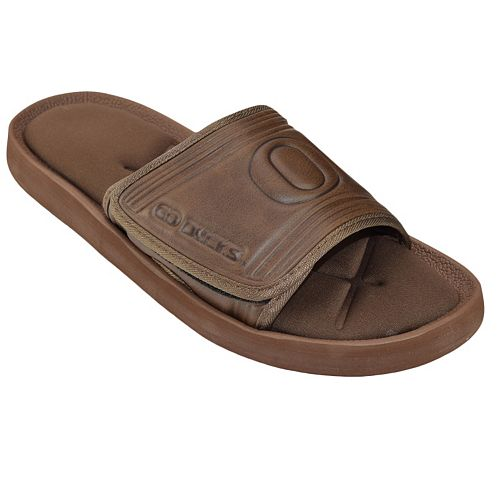 Adult Oregon Ducks Memory Foam Slide Sandals