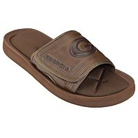 Adult Georgia Bulldogs Memory Foam Slide Sandals