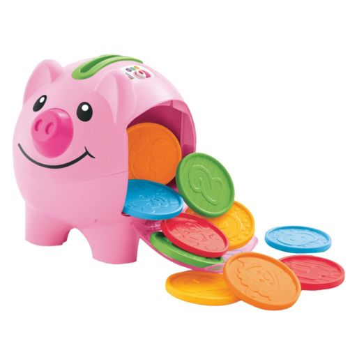 Fisher-Price Laugh & Learn Count & Learn Bilingual Piggy Bank