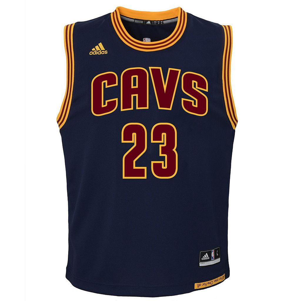 Boys 8-20 adidas Cleveland Cavaliers LeBron James NBA Replica Jersey