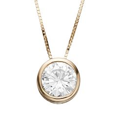 Forever Brilliant 1 Carat T.W. Lab-Created Moissanite Pendant Necklace