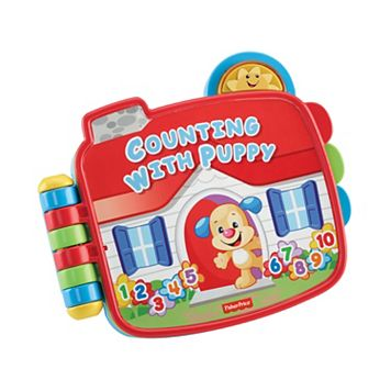 Fisher-Price Laugh & Learn Counting with Puppy Book