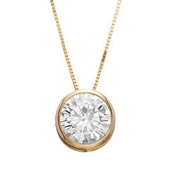 Forever Brilliant 1 9/10 Carat T.W. Lab-Created Moissanite Pendant Necklace