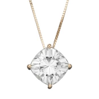 Forever Brilliant 1 Carat T.W. Lab-Created Moissanite 14k Gold Pendant Necklace