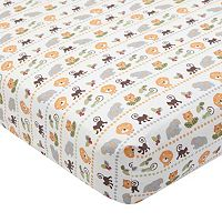Lambs & Ivy Treetop Buddies Crib Sheet